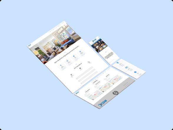 cdw web layout