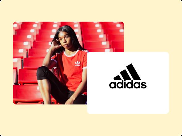 adidas web page