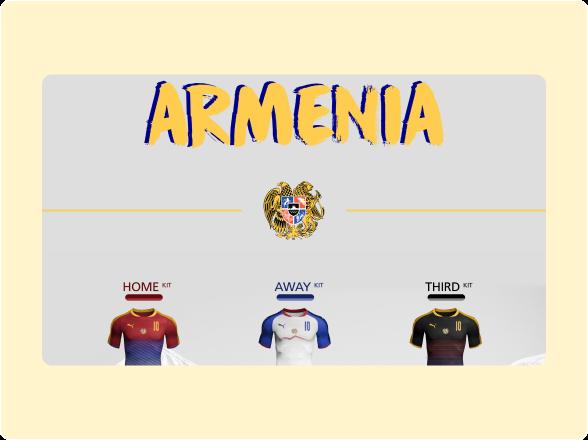 Armenia's kit