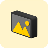 landscape box icon