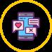 smartphone screen icon